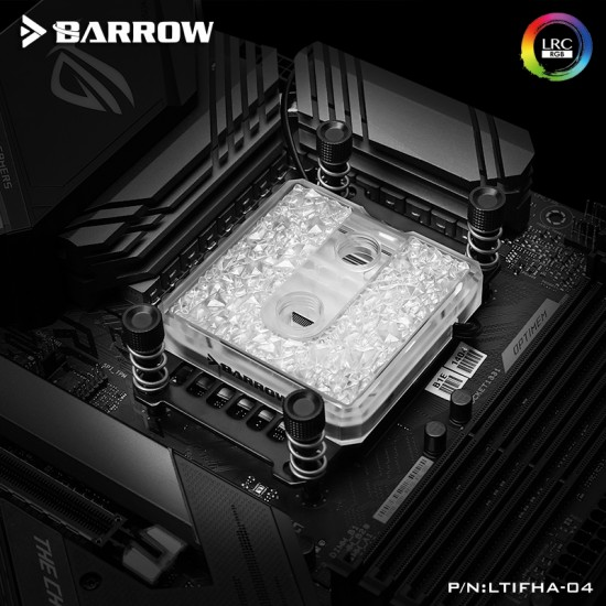 Barrow Icicle series CPU water block for AMD platform (Brass Edition) รับประกัน 1 ปี