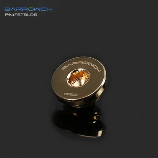 Barrowch ultra-thin Inner six angle Stop Plug Fitting Gold