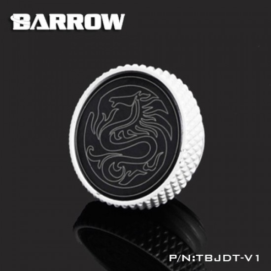 Barrow Mirror Finish Stop Plug Fitting (Limited Edtion) White