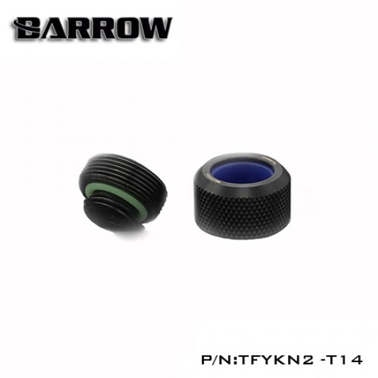 Barrow Choice Multicolor Compression Fitting T14 - 14mm - black