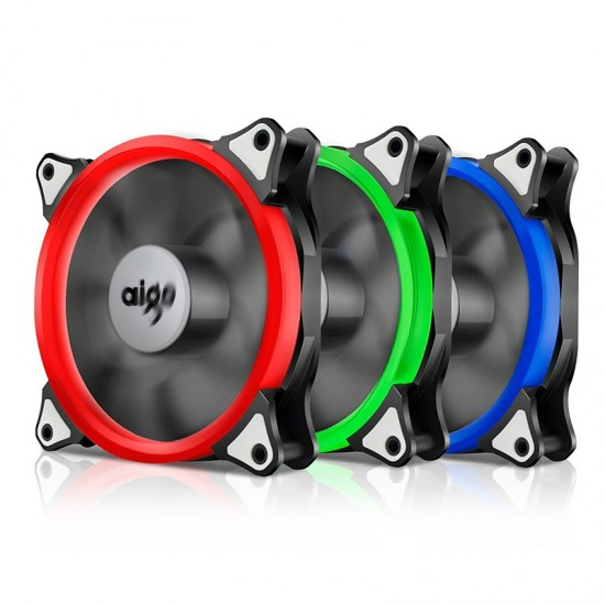 Aigo RGB  Fan 120mm  Pack 3pcs (3ตัว)