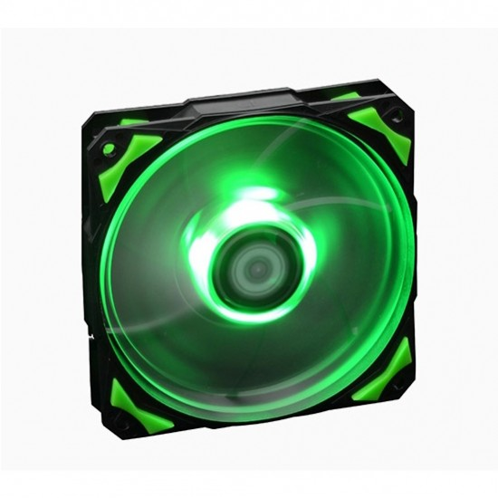 ID COOLING Fan PL-12025-G 120mm green (สีเขียว)