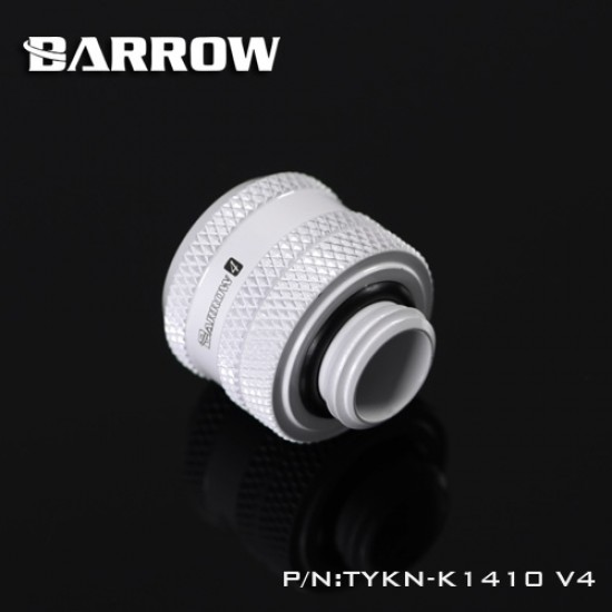 Barrow Compression Fitting V4 - 14mm white