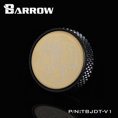 Barrow Mirror Finish Stop Plug Fitting black