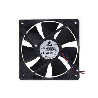 DELTA 120MM 3400 RPM AFB1212SH COOLING FAN PWM (พัดลม DELTA รอบจัด 3400 RPM รับประกัน 1 ปี)