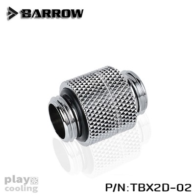 Barrow Rotary Male To Male Extender Silver