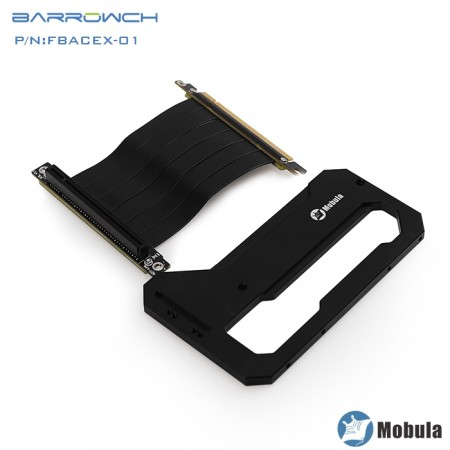 Barrowch Mobula Simple integrated modular panel case Graphics card module black (ขาตั่งการ์จอเคส Barrowch Mobula)