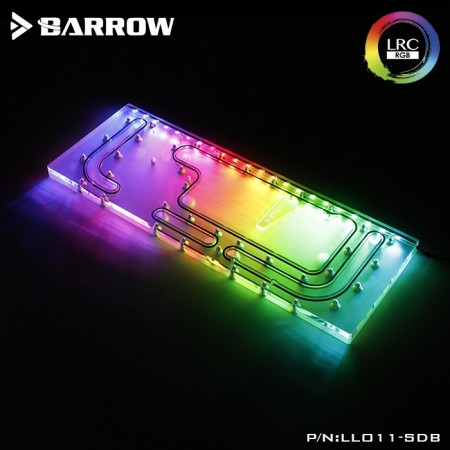Lian Li O11 case Barrow LRC 2.0 water channel integrated board for Lian Li O11 (LLO11-SDB V1)