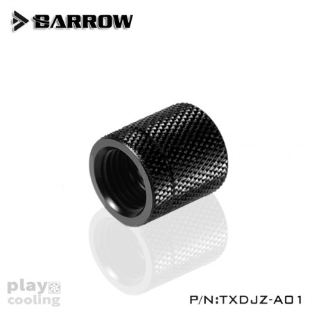 Barrow Rotary Female To Female Extender Balck