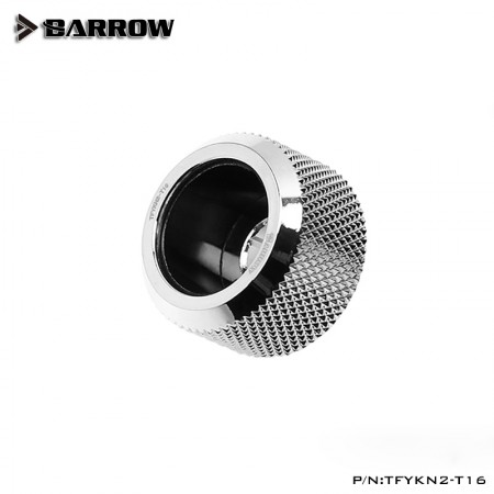 Barrow Choice Multicolor Compression Fitting T16 - 16mm - Silver