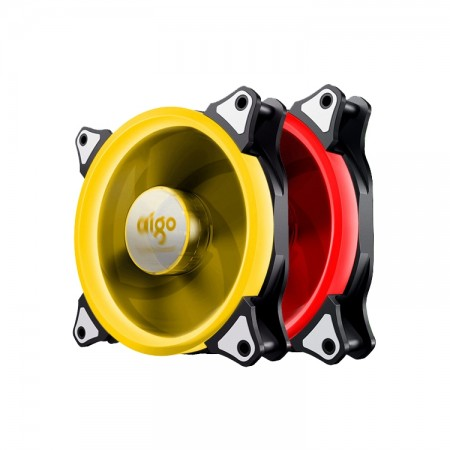 Aigo RGB  Fan 120mm  Pack 2pcs (2ตัว)