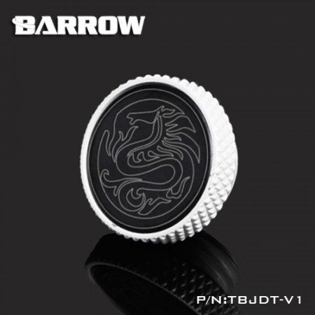 Barrow Mirror Finish Stop Plug Fitting white