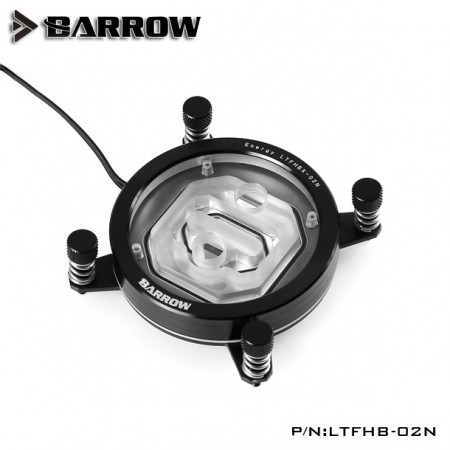 (SEAL) Barrow Energy Series INTEL CPU Water Block (Supreme Edition) Black (รับประกัน 1 ปี)