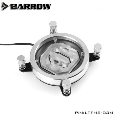 (SEAL) Barrow Energy Series INTEL CPU Water Block (Supreme Edition) Silver (รับประกัน 1 ปี)
