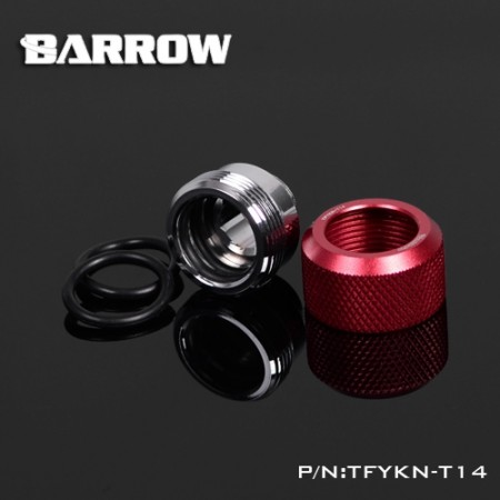 Choice Multicolor Compression Fitting : 14mm red