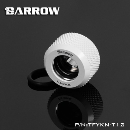 Barrow Choice Multicolor Compression Fitting : 12mm white