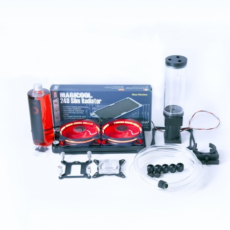 Basic Soft Tube (ID3/8-OD1/2) Water Cooling Kit