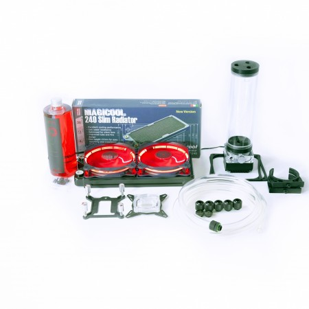 Advance  Soft Tube (ID3/8-OD5/8) Water Cooling Kit