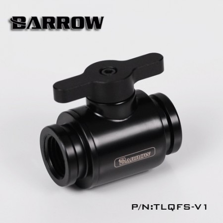 "Barrow G1/4"" Mini Valve black"