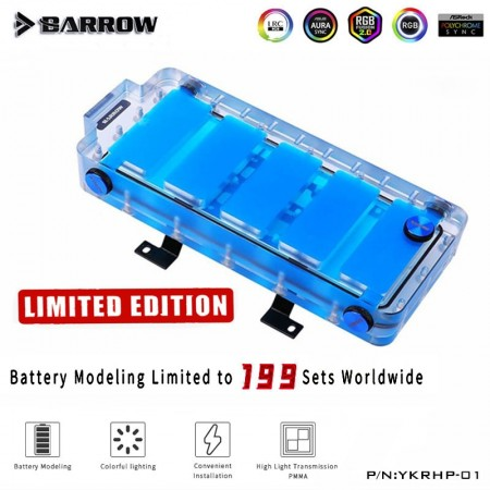 (ใส่ได้ทุกรุ่นเคส) Barrow Water Tank Series Battery Limited Edition ARGB