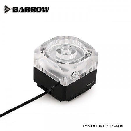 Barrow pump SPB17 PLUS (DDC) transparent-black (รับประกัน 1 ปี)