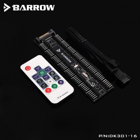 Barrow 16 ways full function RGB controller (คอนโทนเลอร์ RGB 5V/PWM/12V 16 ways)