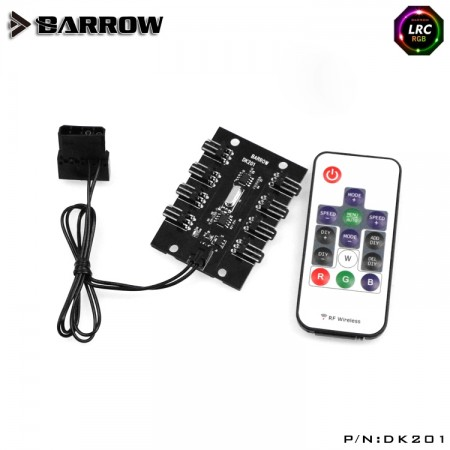 Remote type 8 lines RGB light controller (Aurora)