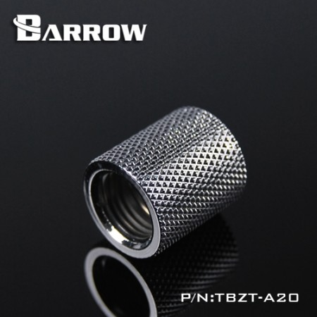 Barrow Female to Female Extender - 20mm silver