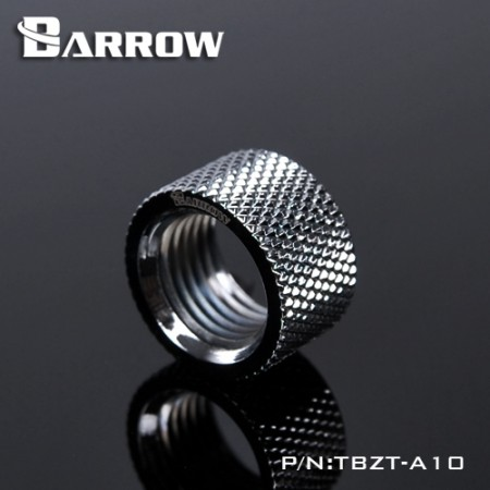 Barrow Female to Female Extender - 10mm silver