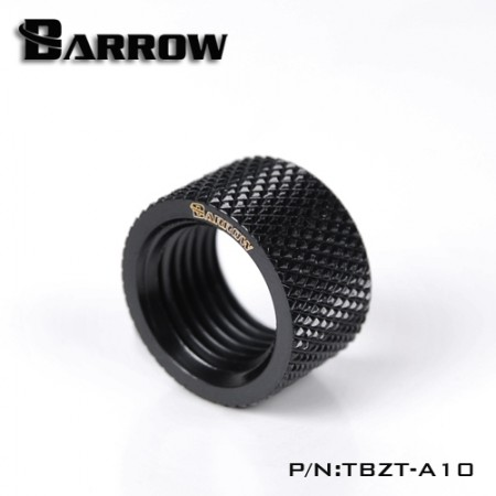 Barrow Female to Female Extender - 10mm black