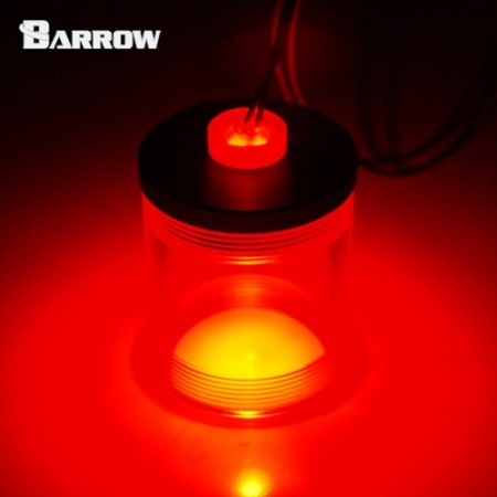 Barrow Acrylic Long Stop Plug Fitting- with LED red