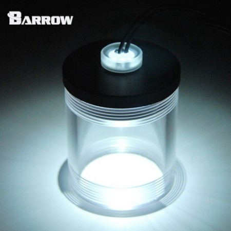 Barrow Acrylic Long Stop Plug Fitting- with LED White