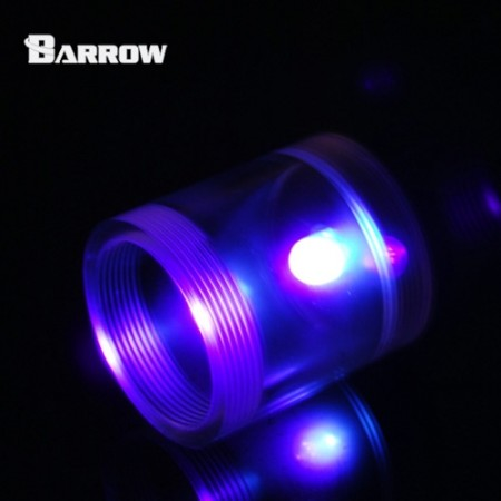 Barrow Acrylic Long Stop Plug Fitting- with LED UV