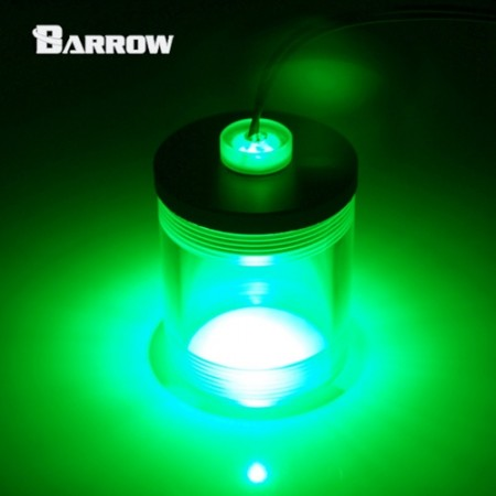 Acrylic Long Stop Plug Fitting- with LED green