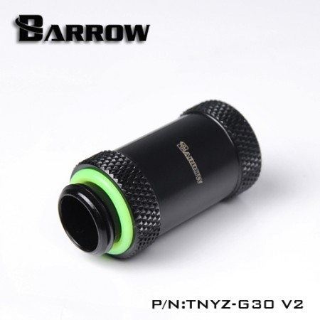 Barrow Male to Female Extender v2 - 30mm black