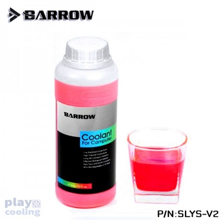 Barrow New Edition Water Cooling Liquid SLYS-V2 Blood Red