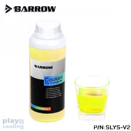 Barrow New Edition Water Cooling Liquid SLYS-V2 Yellow-green UV