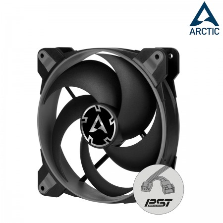 ARCTIC BioniX P120 Gaming Fan PWM PST Pressure-optimised 120mm Gray (พัดลมเน้นประสิทธิภาพ)