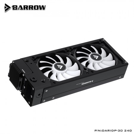 (สั่งจอง) Barrow Radiator Integrated Kit For ITX Mini Small Case DARIDP-30 240 Black