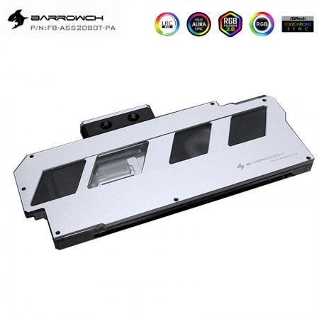 ASUS ROG STRIX RTX2080Ti 2080 2080super Barrowch full coverage GPU water block Aurora Silvery (รับประกัน 1 ปี)