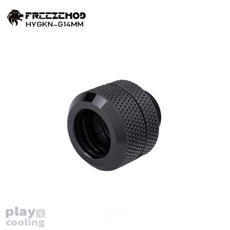 Feeeze Mod OD14mm Hard Tube Fitting Black