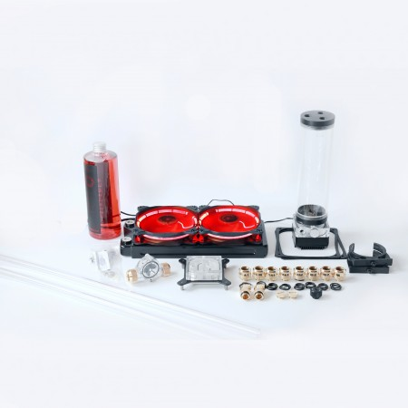 Advance Gold Hard Tube 14mm Water Cooling Kit