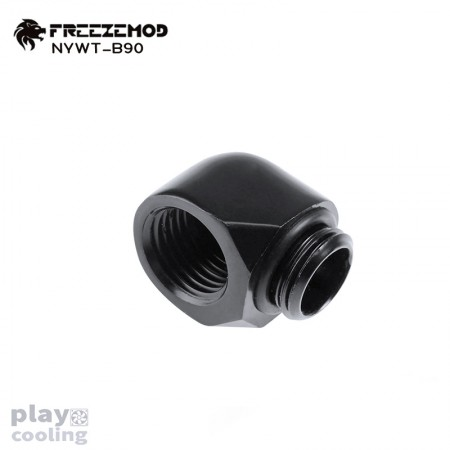 Freeze Mod thread 90 Degree Adapter Black