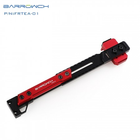 Barrowch adjustable aluminium alloy GPU bracket GPU mate Blood Red  FRTEA-01 (ขาค้ำการ์ดจอ)