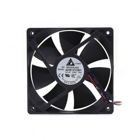 DELTA 120MM 2600 RPM AFB1212SH COOLING FAN PWM (พัดลม DELTA รอบจัด 2600 RPM รับประกัน 1 ปี)