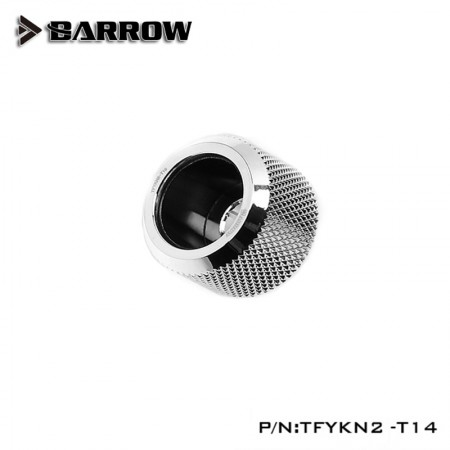 Barrow Choice Multicolor Compression Fitting T14  -14mm - silver