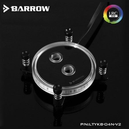 Barrow INTEL CPU Water Block (Rays Edition) Black
