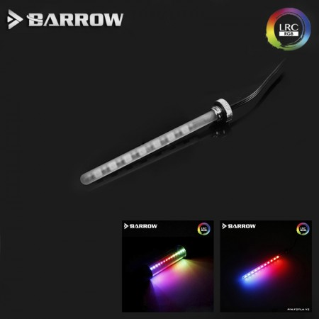 Barrow LED RGB LRC2.0 (ARGB) water tank of length 155MM quartz frosted glass soft (ไฟ ARGB สำหรับส่องเเทงค์)