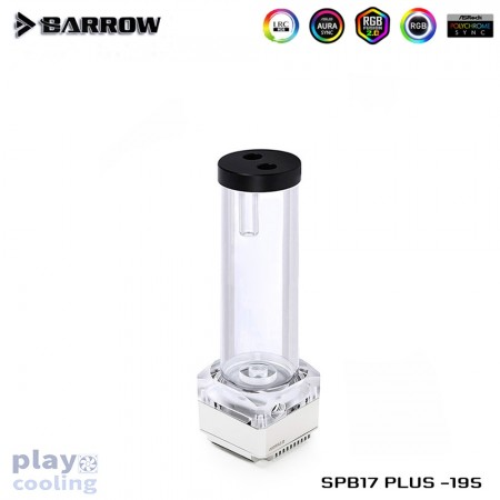 Barrow Pump SPB17 PLUS 195 (DDC) Transparent-Silver(รับประกัน 1ปี)