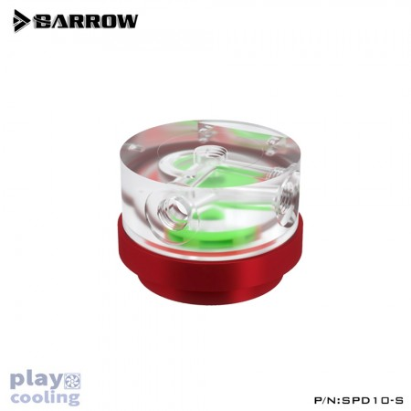Barrow Pump for water cooling SPD10-S-PWM-10W red (รับประกัน 1 ปี )